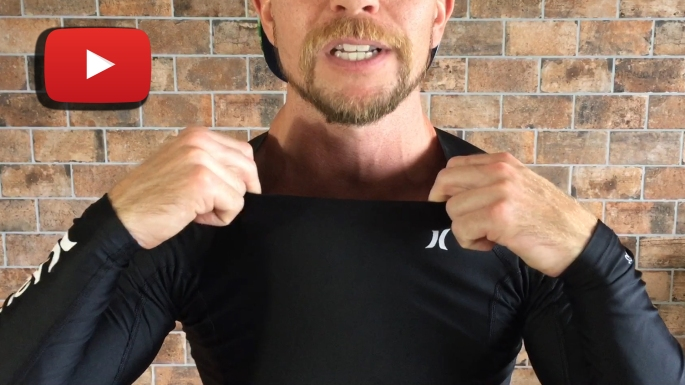 Hurley - Pro Compression Top Review Neck Line